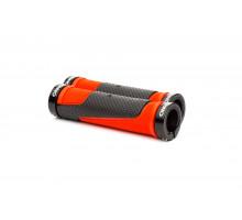 Ручки руля ONRIDE DualGrip чорний/червоний