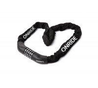 Велозамок ONRIDE Tie Code 10 ланцюговий кодовий 4x1000мм